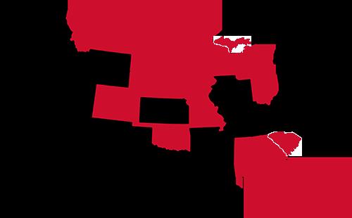 Anderson Underground Service Map